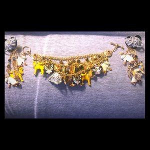 Earrings and Bracelet ❤️❤️❤️😻😻😻